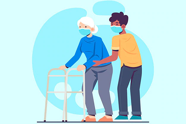 Taking care of the elderly during COVID 19 Pandemic