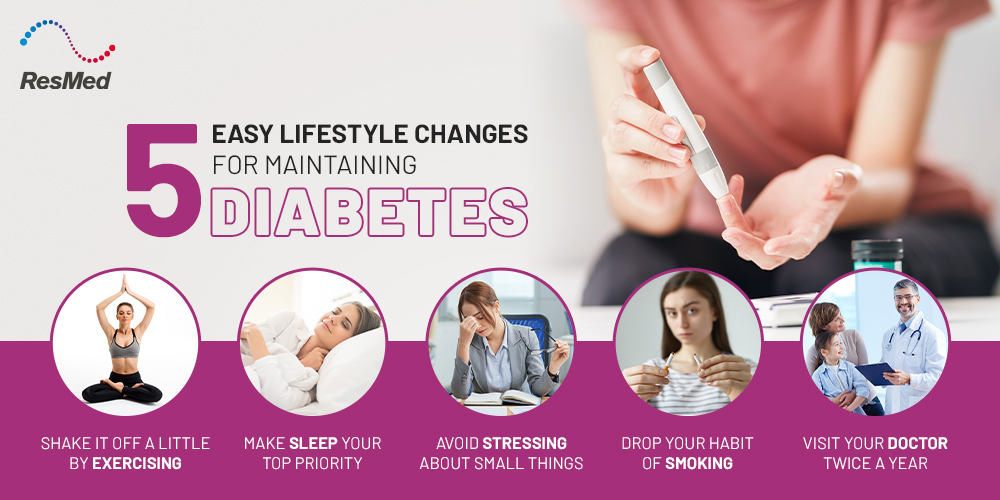 5 Lifestyle Changes for Maintaining Diabetes