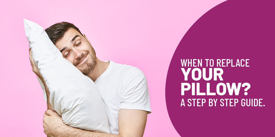 When to replace your pillow